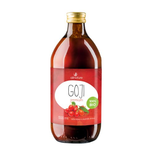 Allnature Goji Premium BIO 500 ml