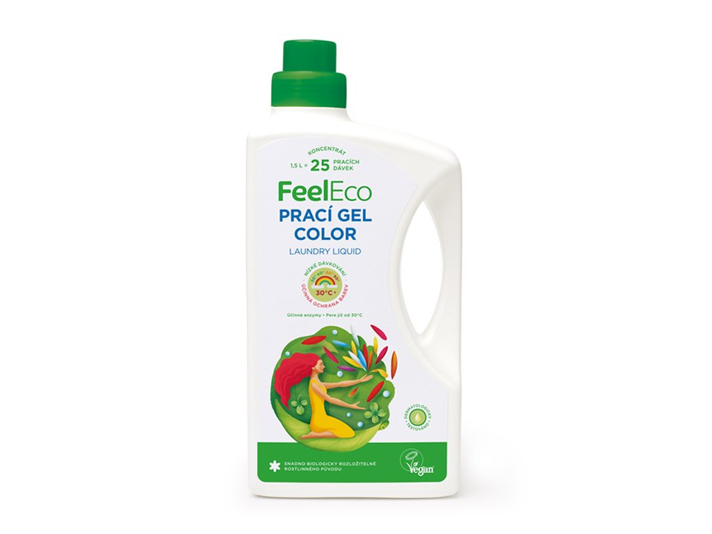 Feel eco color prací gel 1,5l