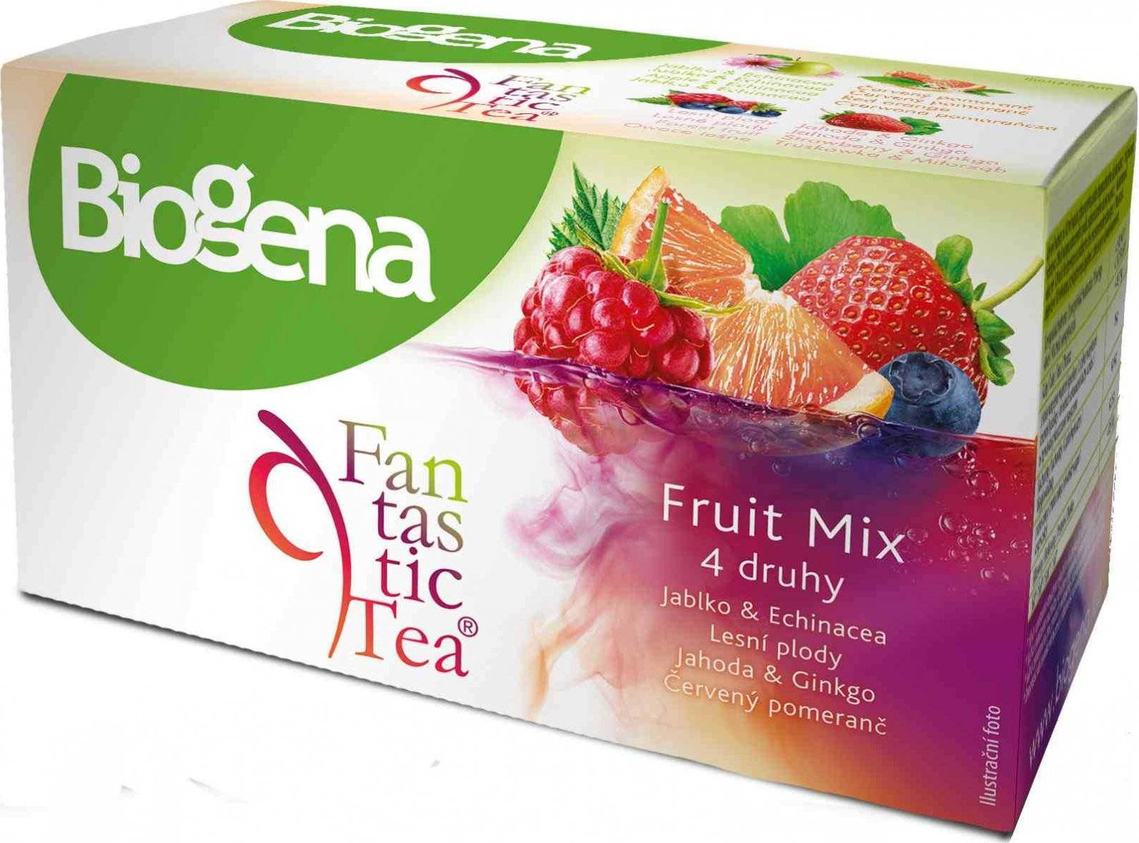 Biogena Fantastic Tea Fruit Mix n.s. 20 x 2.5 g